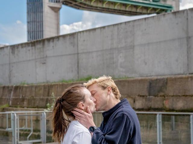 Laura Elsworthy and Jordan Metcalfe for Hull Truck Theatre's Romeo & Juliet.