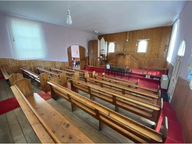 The chapel in Westwoodside was on the market for £40,000.