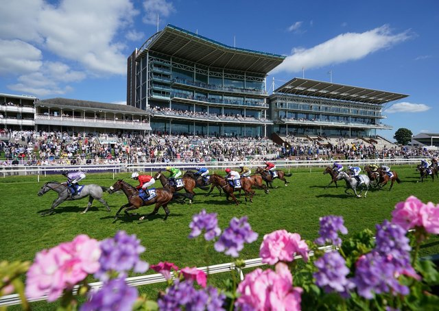 Double-handed: York will stage two meetings as part of this year's Go Racing In Yorkshire Summer Festival, sponsored by Sky Bet. Picture: Tim Goode/PA Wire.