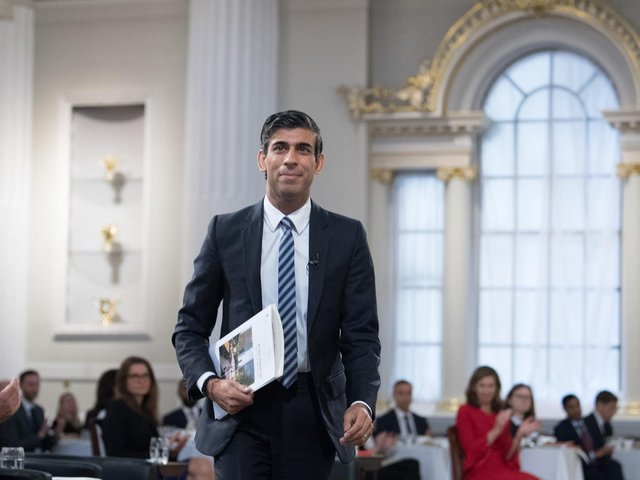 Chancellor of the Exchequer Rishi Sunak arrives to deliver his 'Mansion House' speech at the Financial and Professional Services Address, previously known as the Bankers dinner, at Mansion House in the City of London on July 1, 2021. Picture: Stefan Rousseau/PA