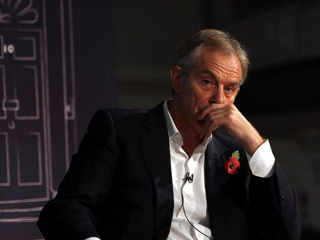Tony Blair pictured in 2013. Picture: Sean Dempsey/PA Wire