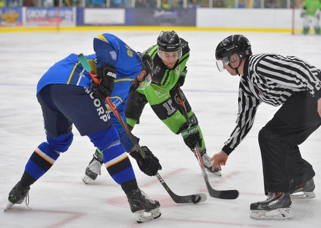 FUTURE PLANS: It remains to be seen where Jason Hewitt will face-off next season after Hull Pirates announced their decision to sit out the 2021-22 NIHL National campaign. Picture: Dean Woolley.
