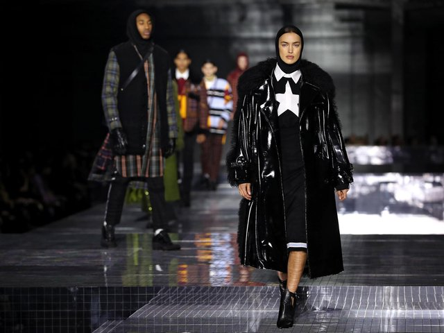 Library image of Burberry London Fashion Week show