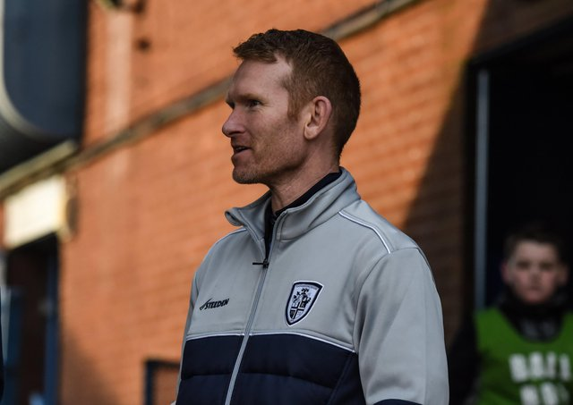 Featherstone Rovers head coach James Webster. Picture courtesy of Dec Hayes.