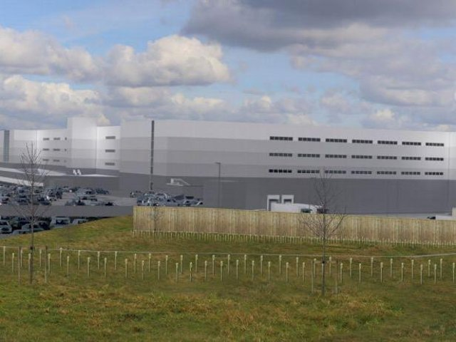 An artist's impression of the proposed warehouse