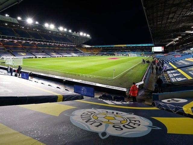 Elland Road, home of Leeds United.