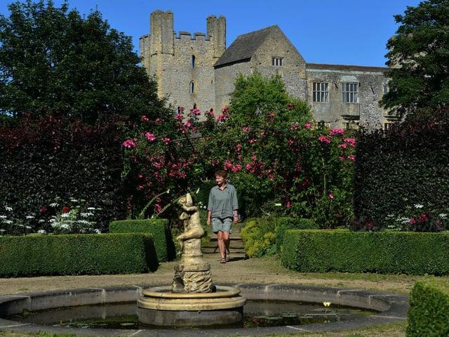 Helmsley Walled Garden lies in the shadow of Helmsley Castle