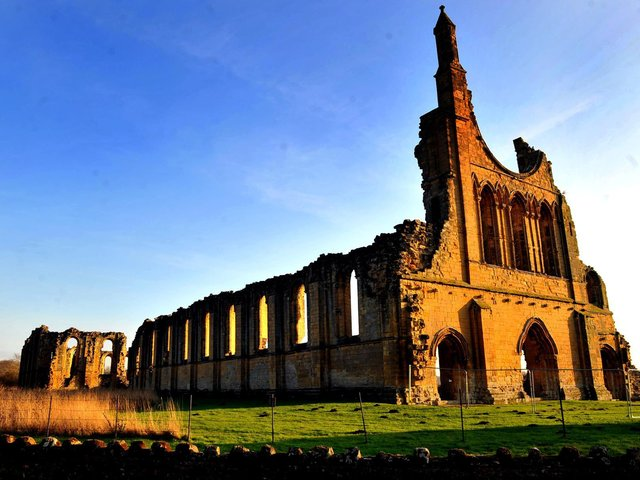 Byland Abbey in the North York Moors