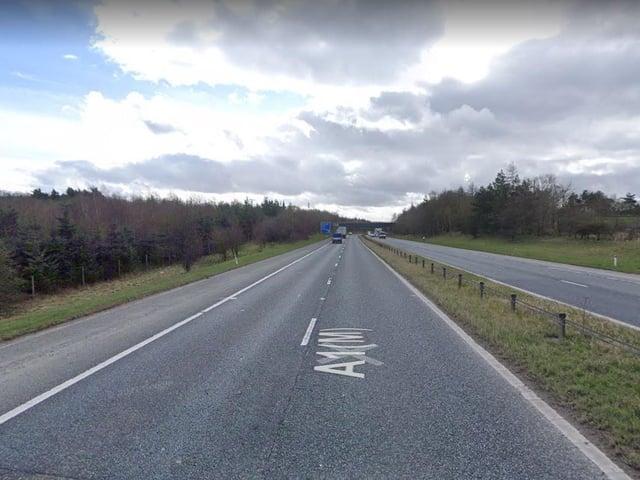 The A1 at Bowburn