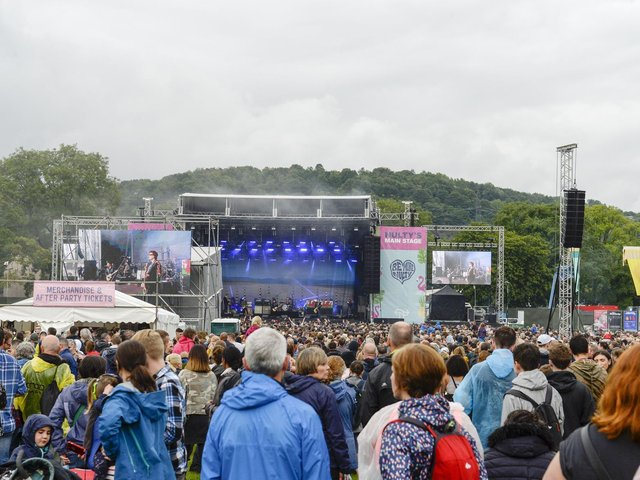 The Manic Street Preachers play the main stage at Tramlines in Sheffield in 2019. Writer: Picture: DEAN ATKINS.