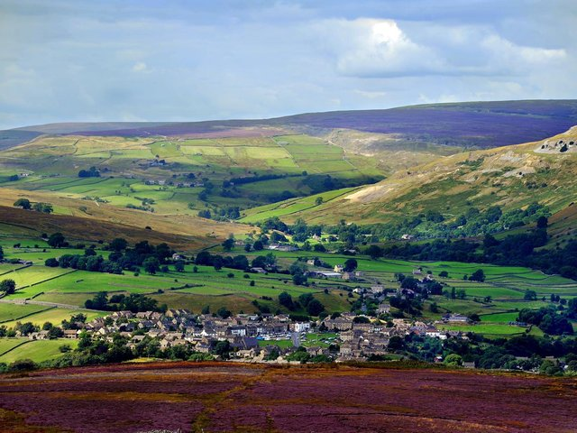 .The rural village of Reeth in North Yorkshire. Picture: James Hardisty.