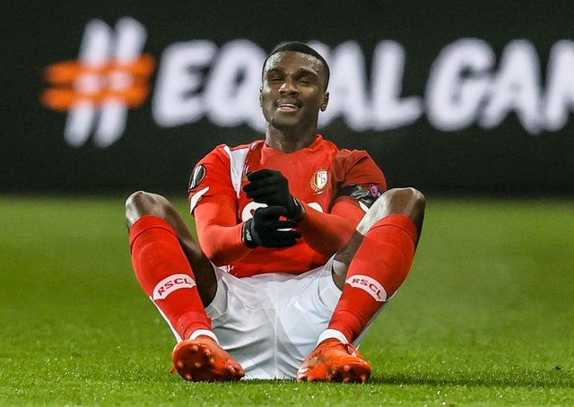 Obbi Oulare: Stadard Liege striker is close to agreeing a move to Barnsley. (Picture: Getty Images)