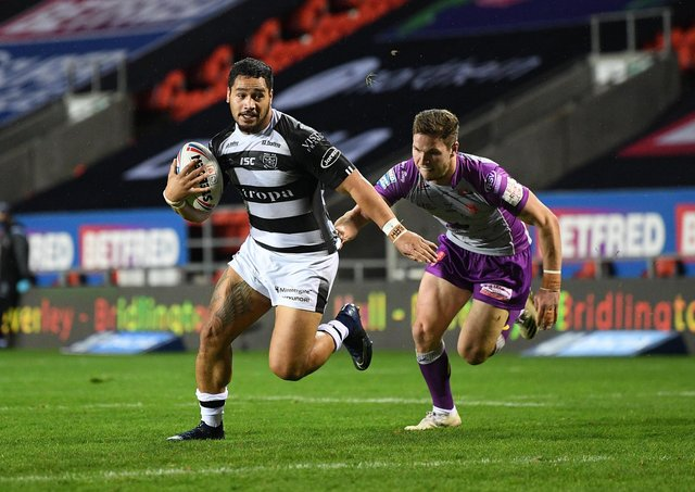 No go: The Hull derby has yet to be played this season due to Covid postponments and Gareth Ellis is pressing for a change in the 'close contacts' rules. Picture: Jonathan Gawthorpe