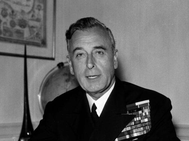 Lord Mountbatten in July, 1959
