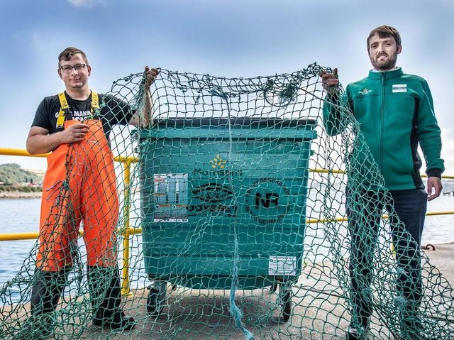 """Morrisons said it was the first and only supermarket to support a program to fight """"ghost fishing gear"""" in British waters"""