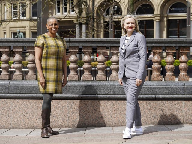 Alison Lowe (left) who was recently appointed Deputy Mayor of West Yorkshire by Tracy Brabin (right)