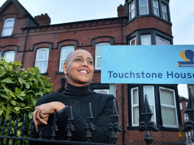 Alison Lowe at the headquarters for charity Touchstone where she has been CEO for 17 years before leaving this year for her post as West Yorkshire's Deputy Mayor