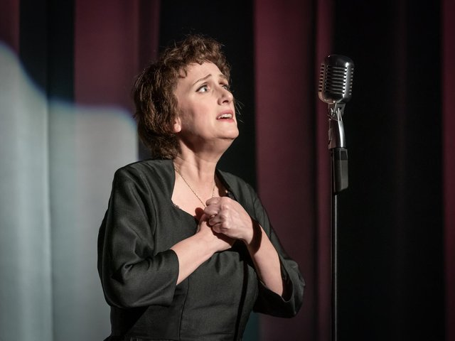 Jenna Russell in the title role of Piaf, which is on at Leeds Playhouse.(Picture: Marc Brenner).