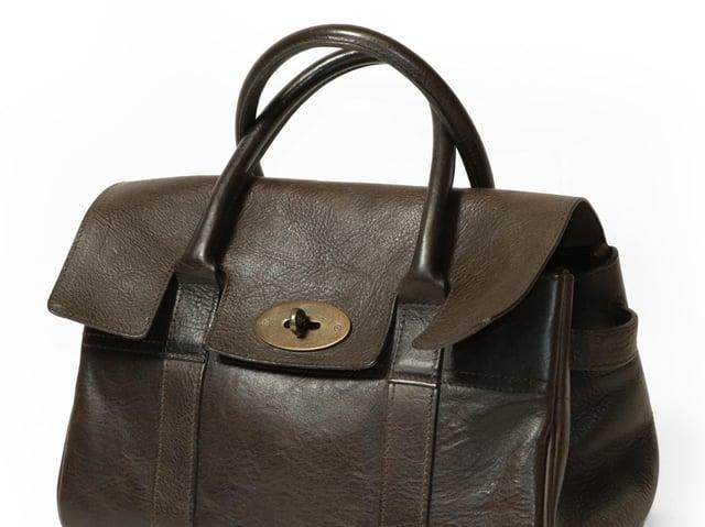 Mulberry Ledbury Chocolate Brown Darwin Leather Handbag - £150-200 plus buyer's premium