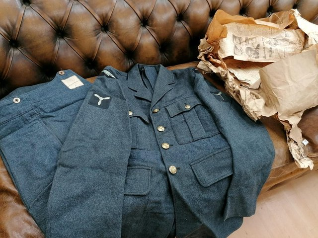 It is believed the uniform dates back to World War Two.