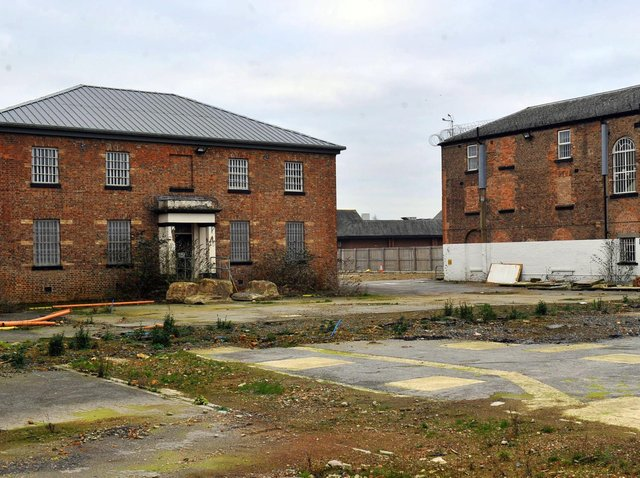 There are several listed buildings on the old Northallerton Prison site