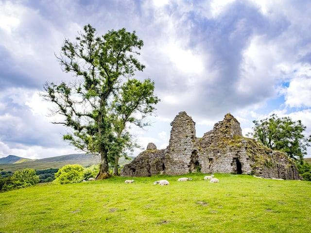 Pendragon Castle. Picture: Marisa Cashill.