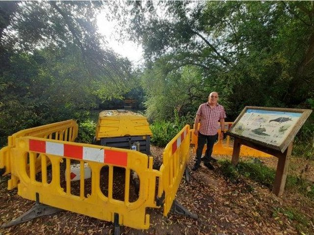 Keith Lawrence says local residents are furious that St Catherine's Lily Pond has been repeatedly polluted by raw sewage.