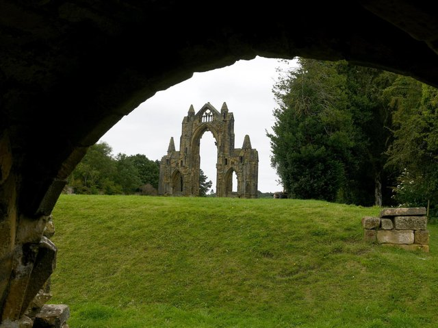 The ruins of Guisborough Priory. Picture: Gary Longbottom.