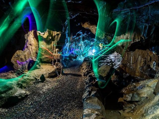 Stump Cross Cavern.