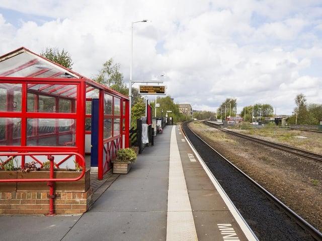 A train platform. (Pic credit: Jim Fitton)