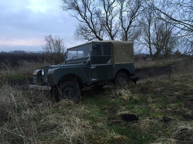 """The """"slow and bumpy"""" 4X4 was built in 1950"""