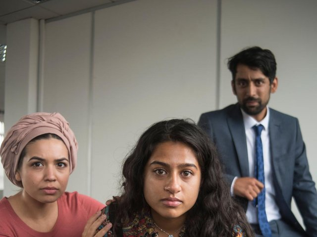 Publicity shots for Freedom Studios' prodution Aaliyah: After Antigone which opens next week. (Tim Smith).