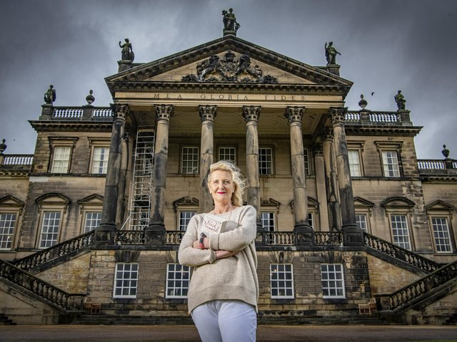 Catherine first visited Wentworth in the 1990s and was fascinated by the estate's lost history