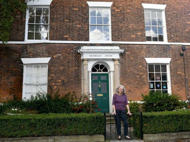 Dr Nuala Sweeney runs Newbegin House with her husband Walter