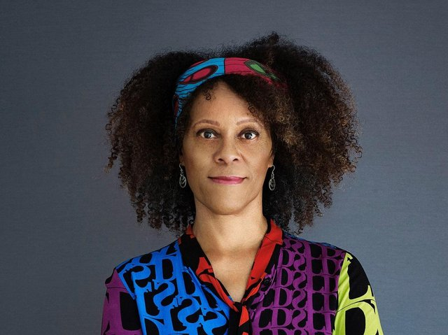 Prizewinning author Bernardine Evaristo is coming to Ilkley and Sheffield this month. (Picture: Suki Dhana).