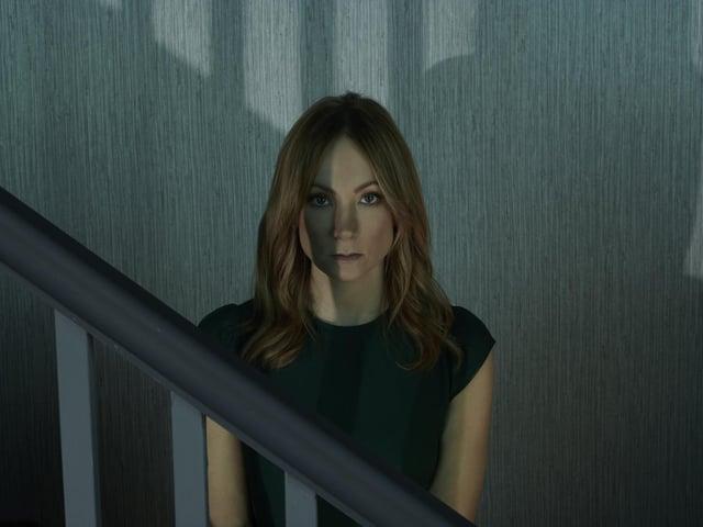 Joanne Froggatt as Angela Black. Picture: ITV.