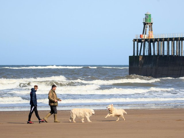 Whitby beach. (Pic credit: Danny Lawson / PA)