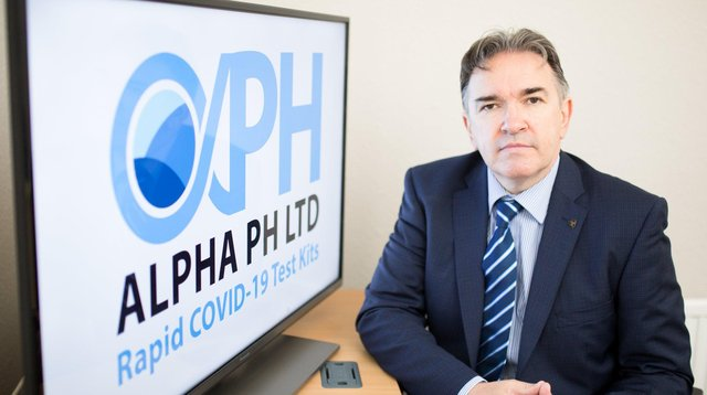 Kevin Sweeney, Director of Alpha PH NI