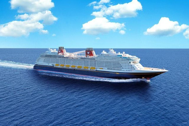 Disney Cruise Line has launched it fifth ship 'Wish' (Disney)