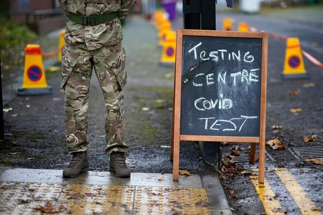 The British army is helping with the UK's vaccine rollout plan. (Pic: Getty)
