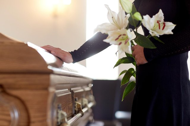 Government guidance around funerals will change as England's Covid lockdown restrictions ease under Boris Johnson's roadmap. (Pic: Shutterstock)