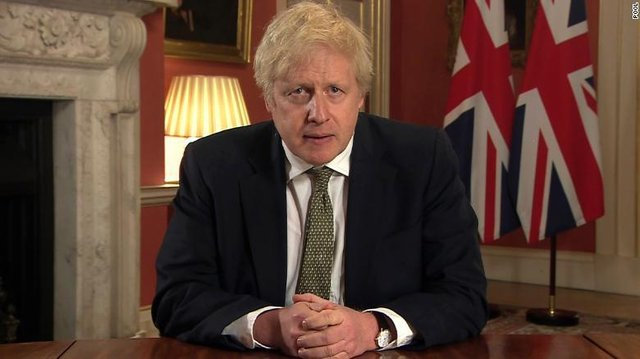 Boris Johnson announced a third lockdown for England on January 4 (Number 10)