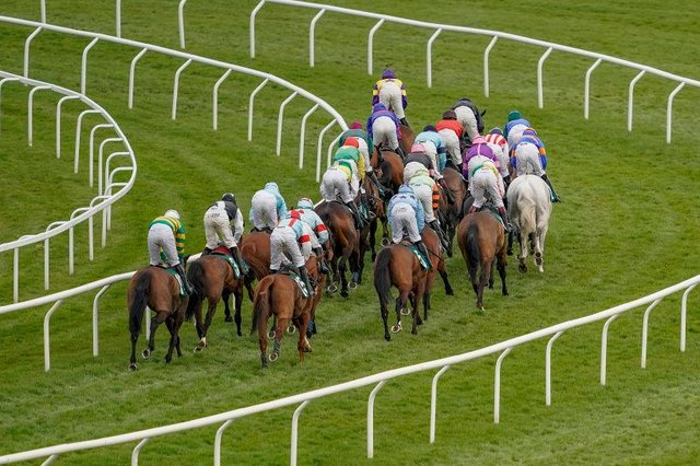 The Cheltenham festival will draw to a close today, as ambitious jockey's race for the Gold Cup (Picture: Getty Images)