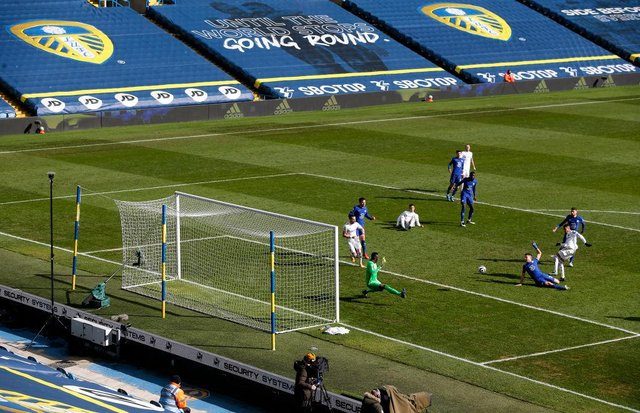 Elland Road. (Photo by Lee Smith - Pool/Getty Images)