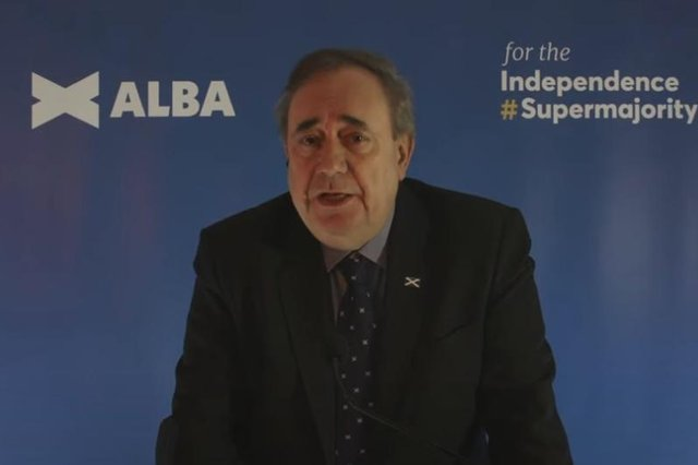 Alex Salmond has formed a new pro-independence party, Alba, to contest May's Scottish Parliament election.