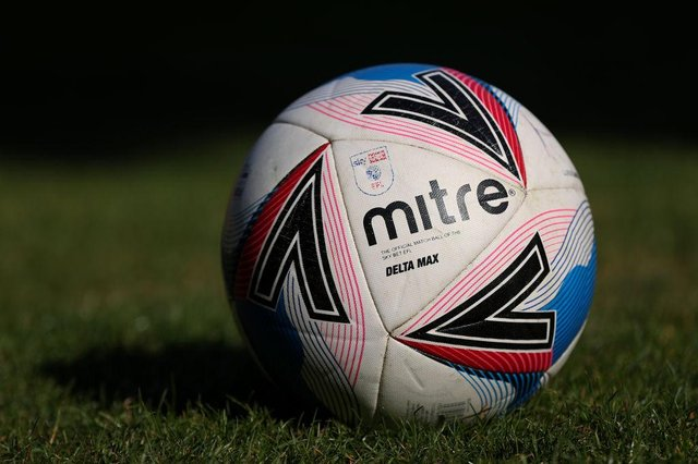 EFL match ball. (Photo by Lewis Storey/Getty Images)