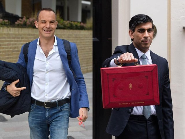 Martin Lewis will interview Rishi Sunak later today (Getty Images)
