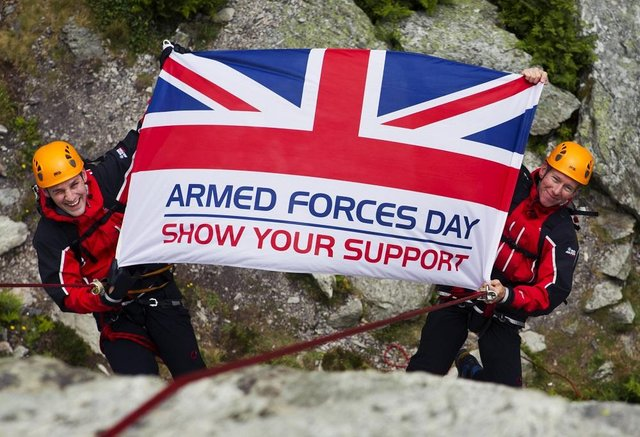 Leeds Armed Forces Day is this Saturday, July 3