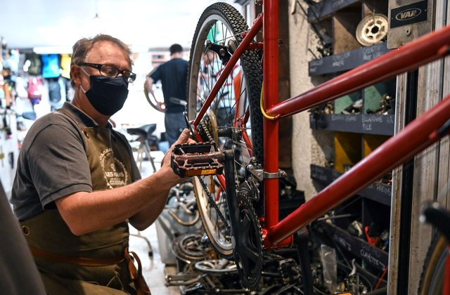 The Fix Your Bike voucher scheme is designed to encourage greener ways of travel and promote exercise during the Covid pandemic. (Pic: Getty)