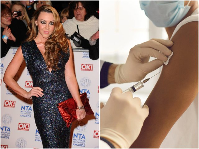 Singer Michelle Heaton has urged people to continue to be careful even after getting a vaccine, after she recently contracted the virus (Photo: Shutterstock)